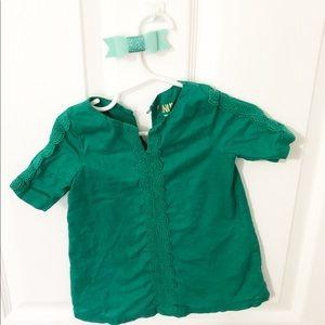 18 Month OshKosh Green Dress
